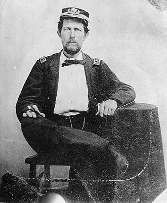 USS Miami (1861) - Lieutenant Commander Charles W. Flusser, USN, killed in action commanding USS Miami on April 19, 1864