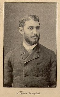 Charles Jules Edmée Brongniart French entomologist