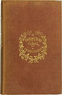 Charles Dickens-A Christmas Carol-Cloth-First Edition 1843