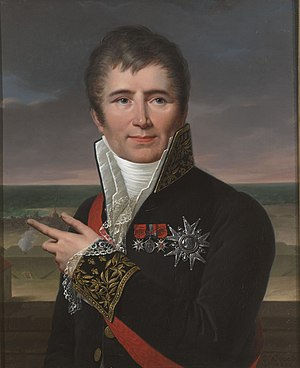 Louis-André-Gabriel Bouchet - Portrait of Charles Henri Ver-Huell, French admiral.