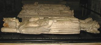 """Papal election, 1280–81 - The tomb of Charles I of Naples (""""Charles of Anjou""""), who engineered the election of Martin IV and exercised considerable influence over him"""