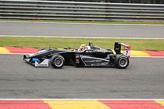 Van Amersfoort Racing - Charles Leclerc, driving for Van Amersfoort Racing during FIA Formula 3 European Championship race at Spa in 2015.