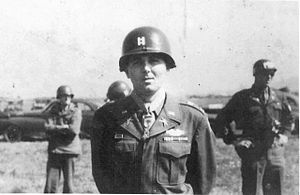 Charles P. Murray Jr. - Murray after being presented with the Medal of Honor on July 5, 1945