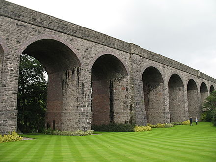 Charlton Viaduct seen from Kilver Court Gardens