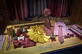 Charvet Place Vendôme shop window 02