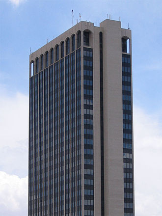 FirstBank Southwest Tower - The FirstBank Southwest Tower in downtown Amarillo.