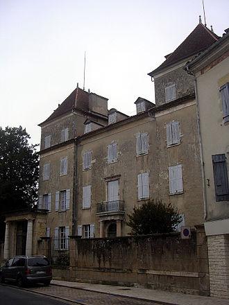 Jean Maximilien Lamarque - Lamarque's home in Saint-Sever