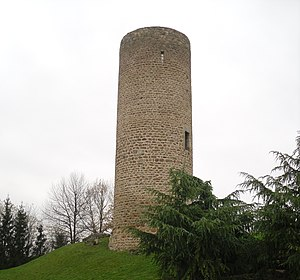 Cleppé - The chateau in Cleppé
