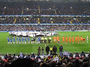 Champions League 2007-08 match between Chelsea...