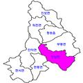 Cheongsong map Bunam-myeon.png