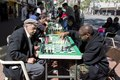 Chess players on Market Street in San Francisco, California LCCN2013631860.tif