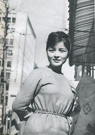 Chieko Baisho - Image: Chieko Baisho.1962