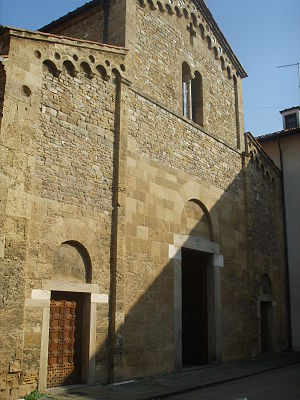 San Sisto, Pisa - Façade of San Sisto