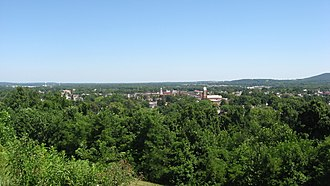 Chillicothe, Ohio - Overview of Chillicothe from Grandview Cemetery