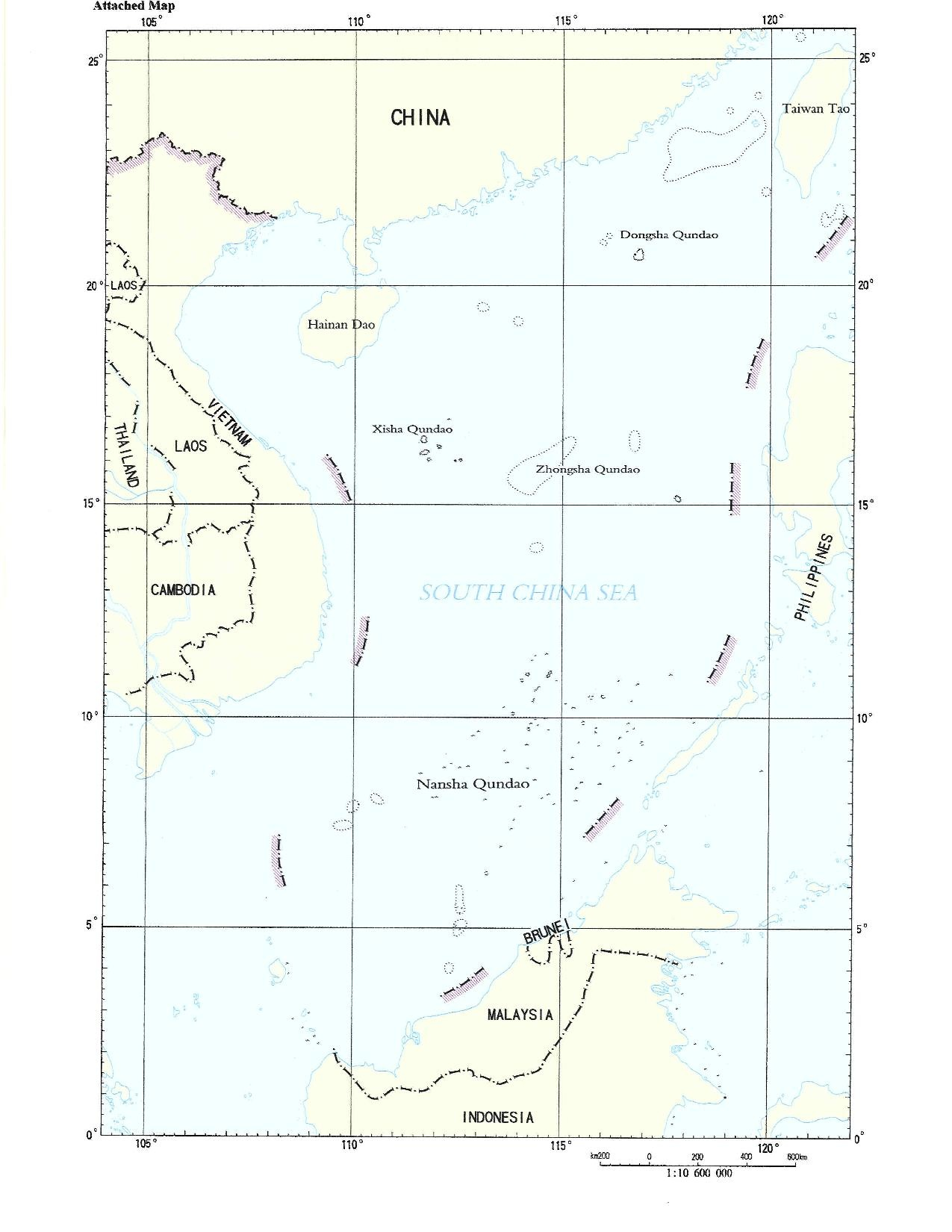 File China S 2009 Nine Dash Line Map Submission To The Un Pdf