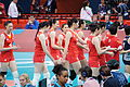 China national volleyball team at the 2012 Summer Olympics (7913914604).jpg