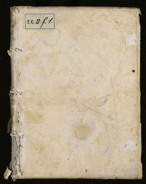 File:Chizzola - Risposta Di Donn' Ippolito Chizzuola alle bestemmie e maldicenze in tre scritti di Paolo Vergerio, 1562.djvu
