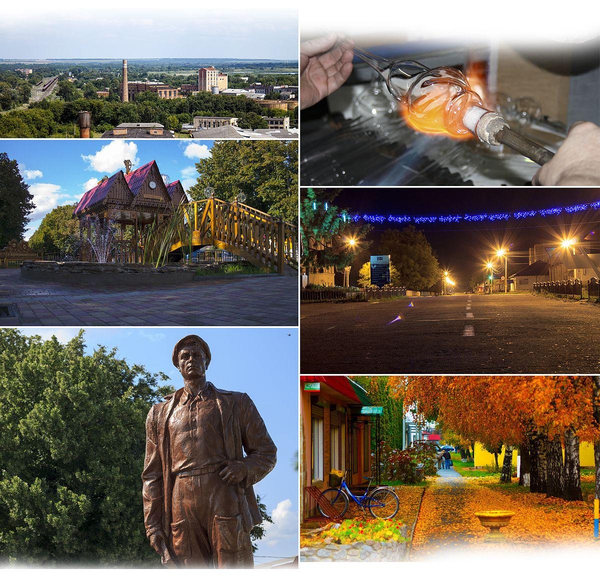 Chervonozavodskoe: a selection of sites