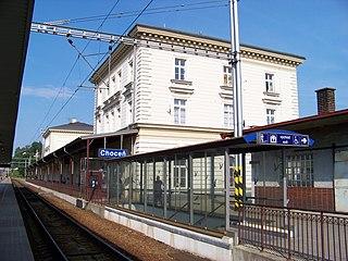 Choceň railway station railway station in Choceň, Czech Republic