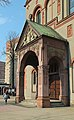 Chorzow Hedwig church portal.jpg