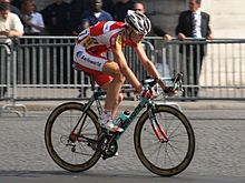 Froome on the 2008 Tour de France s final Champs-Élysées stage in Paris 4ed5eb951