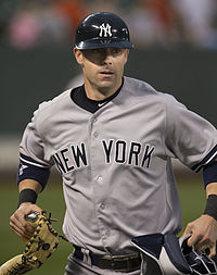 Chris Stewart - Yankees @ Orioles - Sept-12-2013.jpg