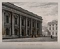 Christ Church, Oxford; library. Line engraving by J. Le Keux Wellcome V0014081.jpg