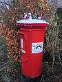 Christmas Crochet Santa's Post Box, Inverkip 1.jpg