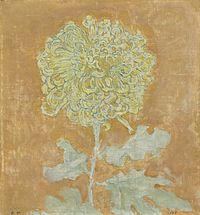 Chrysanthemum by Piet Mondrian (Cleveland).jpg