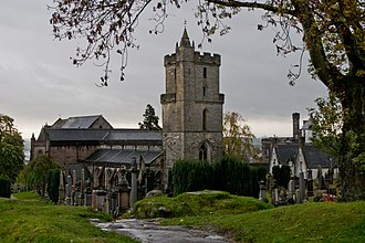 Church of the Holy Rude - A view from the churchyard