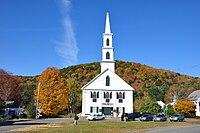 Church in Newfane, Vermont fall 2009.jpg