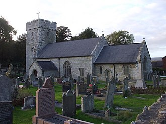 Pyle - Image: Church of St James, Pyle geograph.org.uk 1540332