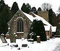 Church of the Holy Cross, Moreton Morrell - geograph.org.uk - 1656967.jpg