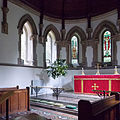 Church of the Holy Innocents, High Beach, Essex, England - chancel sanctuary apse 1.jpg