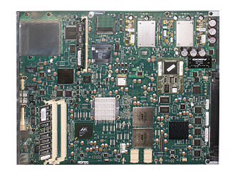 Forwarding plane - Performance Route Processor, from the high-end Cisco 12000 series.