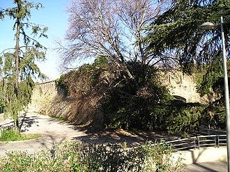 Citadel of Montpellier - Remains of the Bastion du Roi near the Place de la Comédie