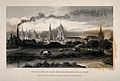 City of Oxford; from the gas works and meadows. Line engravi Wellcome V0014228.jpg