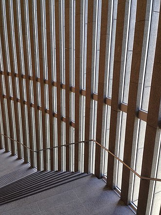 City of Perth Library - Image: City of Perth Library Stairs