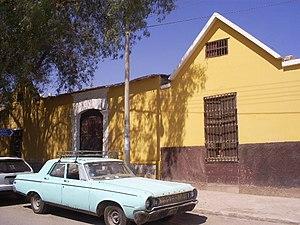 Moquegua - Image: Ciudad de Moquegua Bodega NORVILL