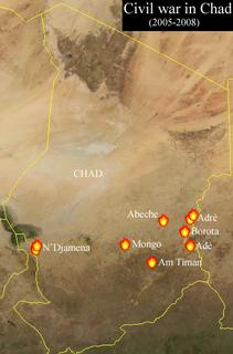Chadian Civil War (2005–2010) conflict