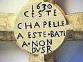 Clé de voûte datant la chapelle.jpg
