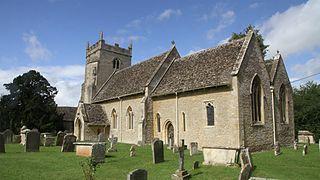 Clanfield, Oxfordshire village and civil parish in West Oxfordshire, England