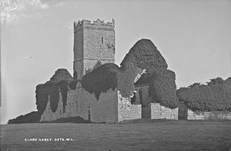 Clare Abbey - Image: Clare Abbey, Ennis, Clare (5262907283)