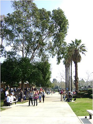 Claremont High School (California) - Image: Claremont high school central quad