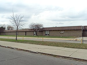 River Rouge School District - Image: Clarence B Sabbath Middle School 2