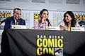 Clark Gregg, Chloe Bennet & Ming-Na Wen (48379011656).jpg