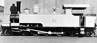 South African Class C2 4-6-4T - Image: Class C2, NGR no. 1 grey