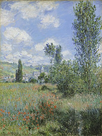 Claude Monet - View of Vétheuil