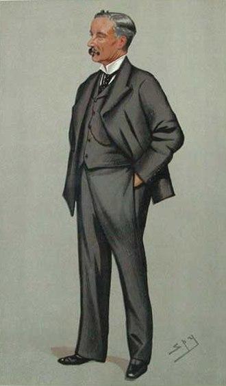 "Clement Jackson - ""Jacky"" As depicted by ""Spy"" (Leslie Ward) in Vanity Fair, 3 September 1892"