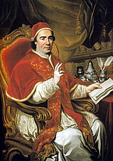 18th-century Catholic pope